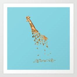 Giraffa Art Print