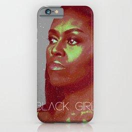 Black Girl Magic - Michelle iPhone Case