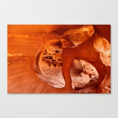 Windstone Arch, Fire Cave, Valley of Fire, Nevada Canvas Print