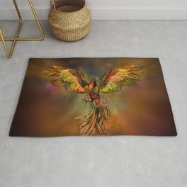 Phoenix Rising Rug