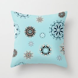 Mandala (1) Throw Pillow