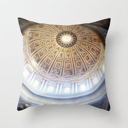 St Peters dome Throw Pillow