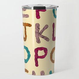 Alphabet Travel Mug