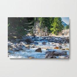 River Calm 2 Metal Print