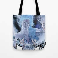 fairy Tote Bags featuring Fairy  by nicky2342
