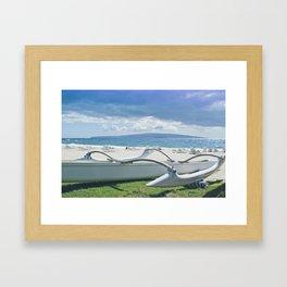 Polo Beach Framed Art Print