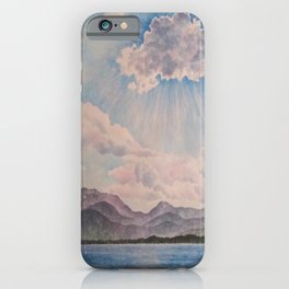 Lake Tahoe After a Summer Storm iPhone Case