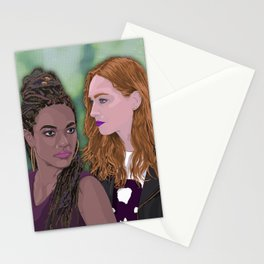 Sense 8 - Amanita and Nomi Stationery Cards