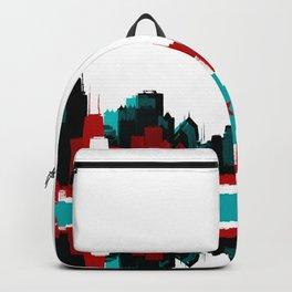 Chicago Flag Skyline Backpack