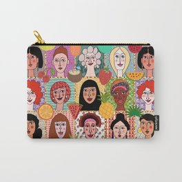 the colors of women Carry-All Pouch