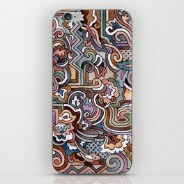 Rayas y rulos iPhone Skin