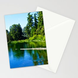 Duckling Reflecting Stationery Cards