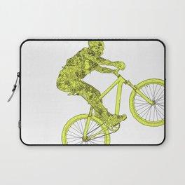 mountain biker Laptop Sleeve