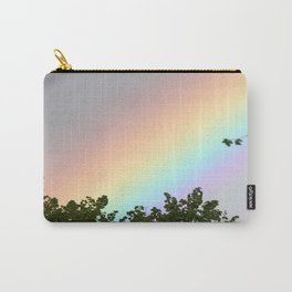 Pastel Natural Rainbow Carry-All Pouch