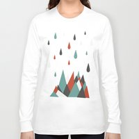 vancouver Long Sleeve T-shirts featuring North Vancouver by Daina Lightfoot