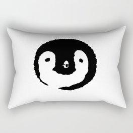Baby Penguin Face Rectangular Pillow