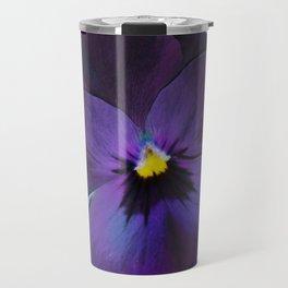 Ultra violet viola tricolor Travel Mug