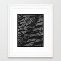 labyrinth Framed Art Prints featuring Labyrinth by Tom Sebert
