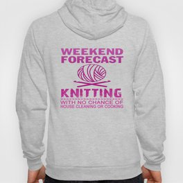 WEEKEND FORECAST KNITTING Hoody