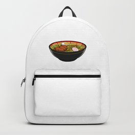Hopeless Ramentic Japanese Instant Noodle Foodie Backpack