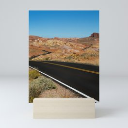 Desert Highway Mini Art Print