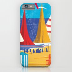 Sailboats on the Beach Slim Case iPhone 6s