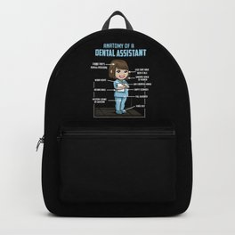 Anatomy Of A Dental Assistant Backpack