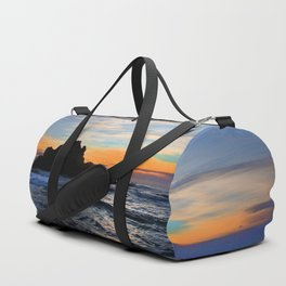 Big Sur sunset Duffle Bag