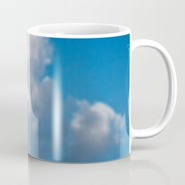 Dreaming floating candy on blue Coffee Mug