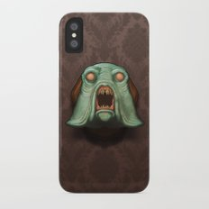 Swamp Alien iPhone X Slim Case
