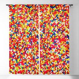 Sugar Candy Rainbow Balls Blackout Curtain
