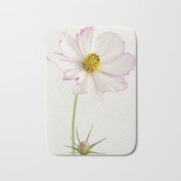 Sensation Cosmos White and Pink Bath Mat