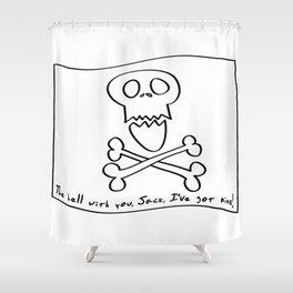 samaritrophia Shower Curtain