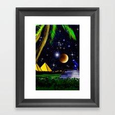 Landof the Pharaohs. Framed Art Print