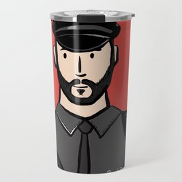 Beard Boy: Alberto Travel Mug