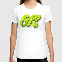 kim sy ok T-shirts featuring Ok by Roberlan Borges