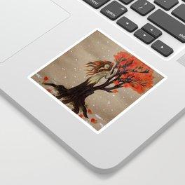 Fall Dryad Sticker