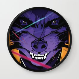 Rocket Raccoon Guardians of the galaxy Wall Clock