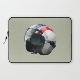 Tag Heuer Steve McQueen Cafe Racer Helmet Polygon Art Laptop Sleeve