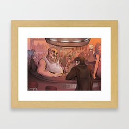 Chatsubo Framed Art Print