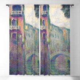 """Claude Monet """"Le Rio de la Salute"""" Blackout Curtain"""