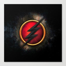 FLASH-HERO Canvas Print