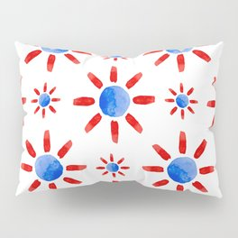 Watercolor ethnical ornament Pillow Sham