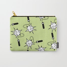 Mace Pattern Carry-All Pouch