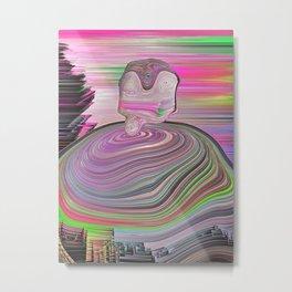 Univerval Intelligence Metal Print