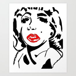 Andy Norma Art Print