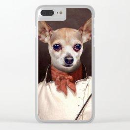 Swordy Steve Clear iPhone Case