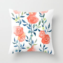 Spring Flowers #3 Throw Pillow