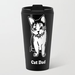 Cat Dad Travel Mug