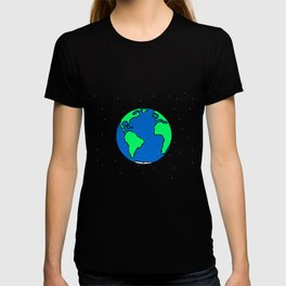 Earth And Stars T-shirt